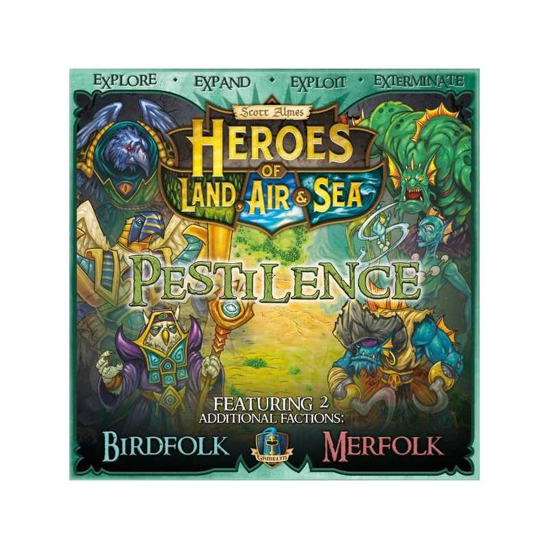 Pestilence Expansion Heroes of Land, Air & Sea