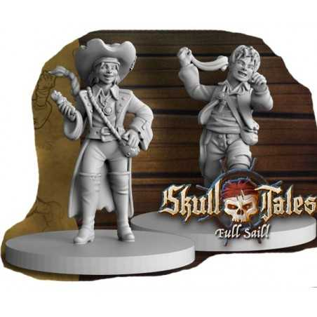 Piratas mellizos Expansión Skull Tales