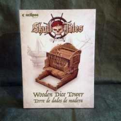Skull Tales Torre de Dados de madera