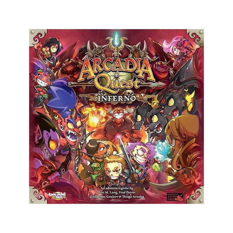 Arcadia Quest Inferno ENGLISH EDITION