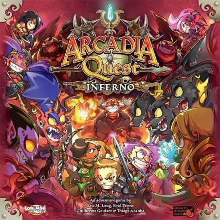 Arcadia Quest Inferno ENGLISH EDITION