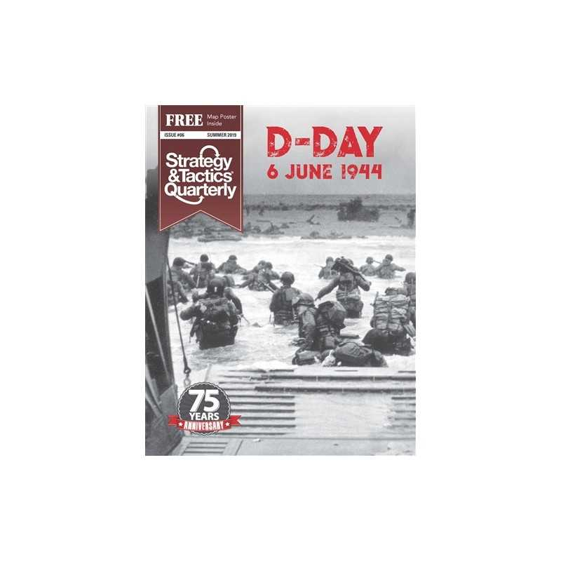 Strategy & Tactics Quarterly 6 D-DAY 75th Anniversary