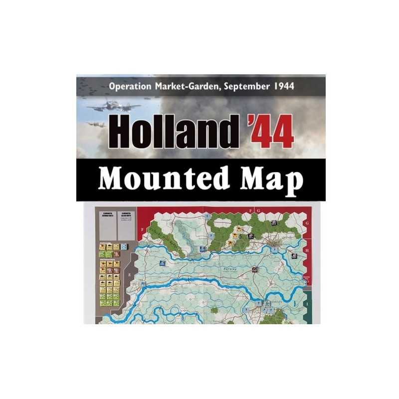 Holland 44 Mounted map