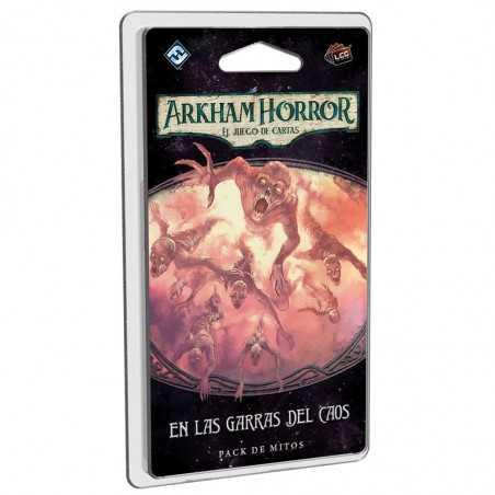 En las garras del caos Arkham Horror el juego de cartas