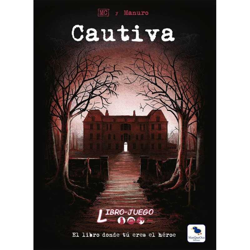 Libro juego CAUTIVA