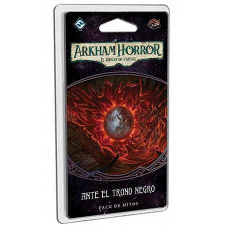 Ante el trono negro Arkham Horror el juego de cartas