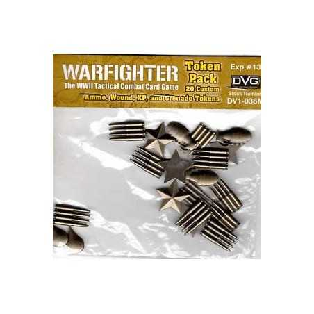 Warfighter WWII Metal Tokens