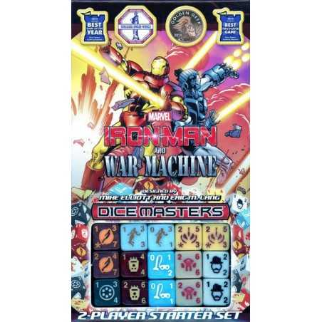 Iron Man and War Machine Starter Marvel Dice Masters
