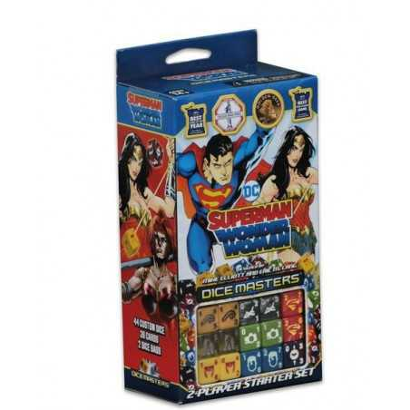 Superman and Wonder Woman Starter Set DC Comics Dice Masters