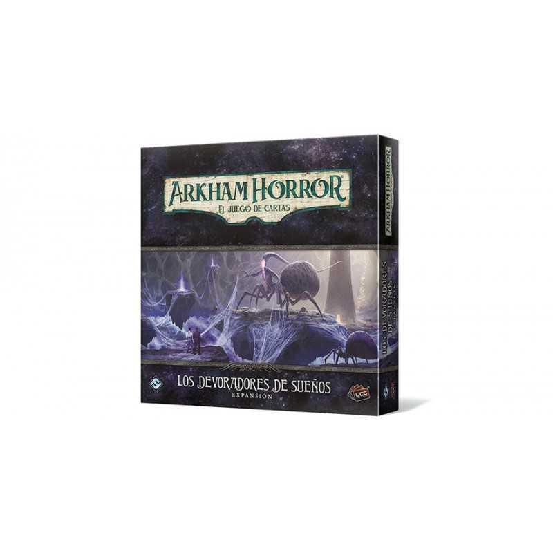 Los devoradores de sueños Arkham Horror el juego de cartas