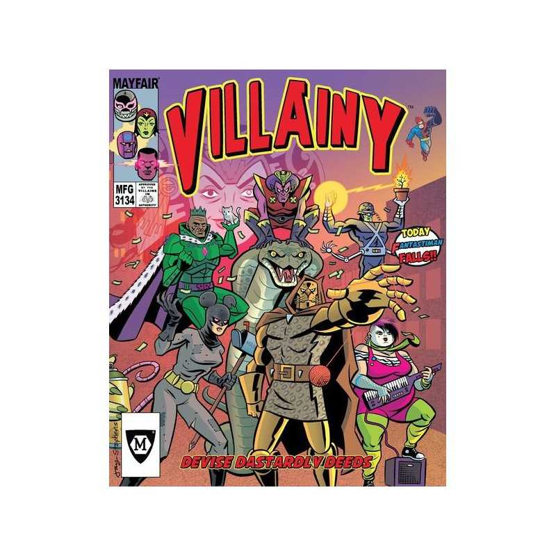 Villainy Doom-Dealer Doers of Dastardly Deeds