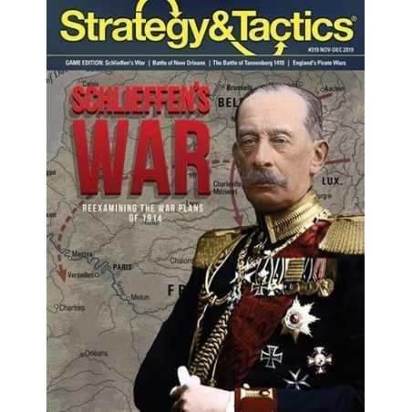Strategy & Tactics 319 Schieffen's War
