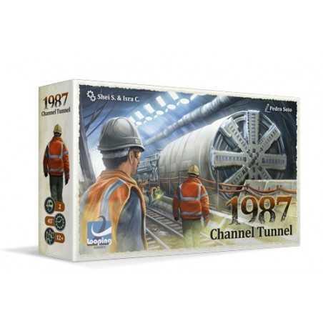 1987 Channel Tunnel Edición Verkami