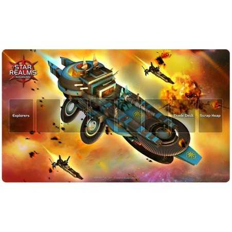 Playmat Star Realms Light Cruiser