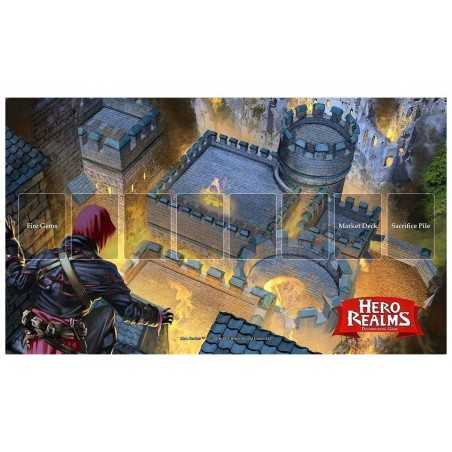 Playmat Hero Realms Fire Bomb