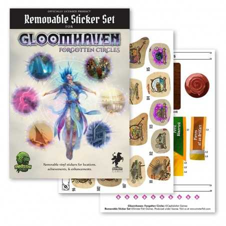 Forgotten Circles Gloomhaven Removable Sticker Set