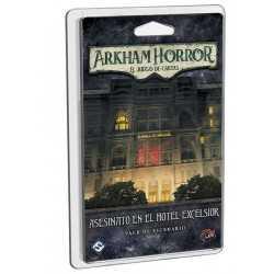 Asesinato en el hotel Excelsior Arkham Horror el juego de cartas