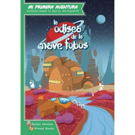 Libro juego La odisea de la nave Phobos