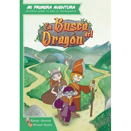 Libro juego En busca del Dragón. Mi primera Aventura.