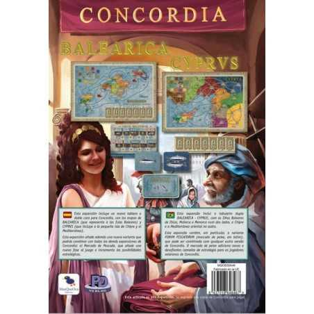 Concordia Balearica y Cyprus
