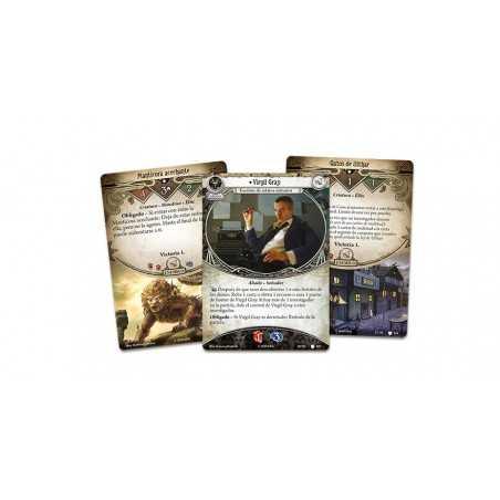 La búsqueda de Kadath Arkham Horror el juego de cartas