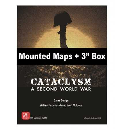 "Cataclysm Mounted Maps + 3"" Box"