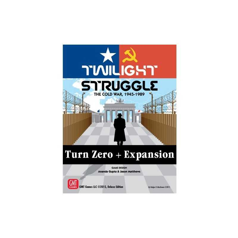 Twilight Struggle Turn Zero expansion (ENGLISH)