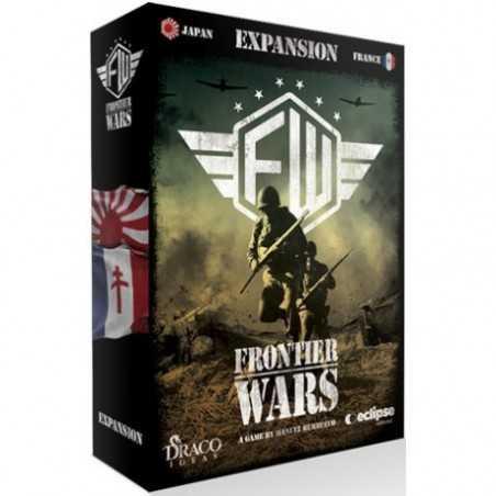 Guerra Fronteriza frontier wars Expansión Francia Japón