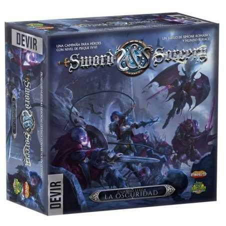 Cuando llega la oscuridad Sword and Sorcery expansión