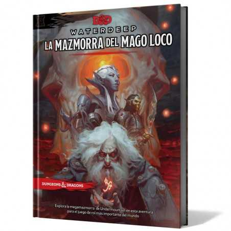 Waterdeep La Mazmorra del Mago Loco Dungeons and Dragons 5ªedición
