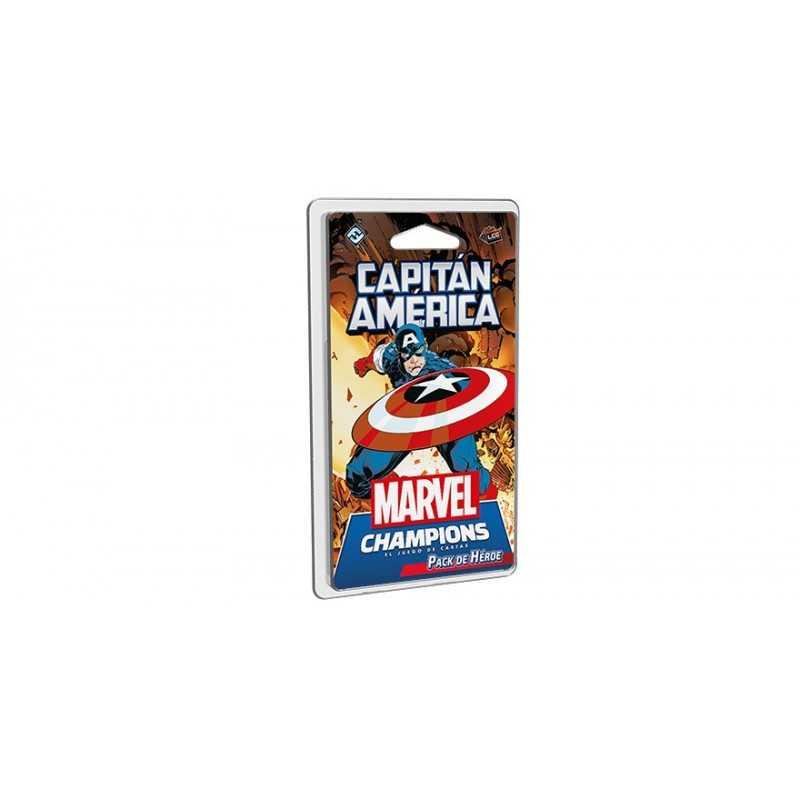 Capitán América Marvel Champions el Juego de Cartas