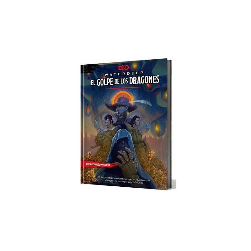 Waterdeep El Golpe de los Dragones Dungeons and Dragons 5ªedición