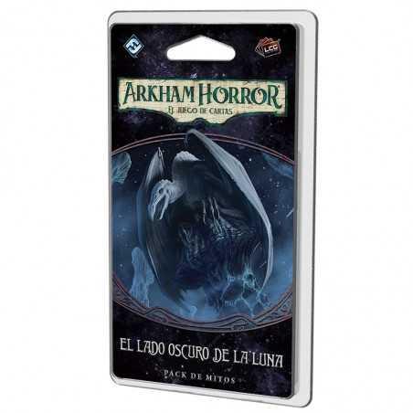 El lado oscuro de la luna Arkham Horror el juego de cartas