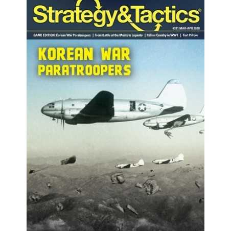 Strategy & Tactics 321 Korean War Paratroopers