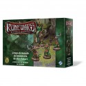 Runewars Grupo de mando de infantería de elfos latari
