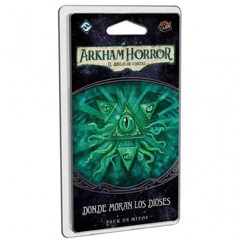 Donde moran los dioses Arkham Horror el juego de cartas