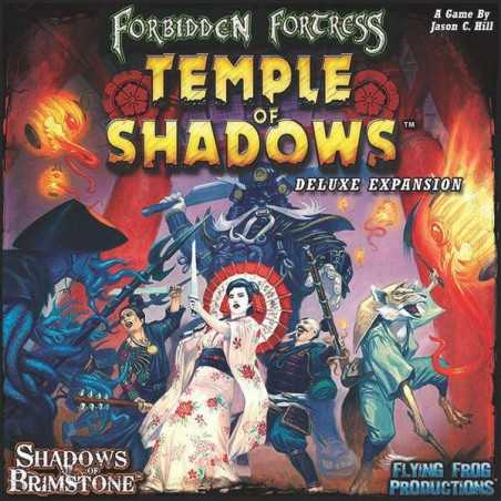 Temple of Shadows Deluxe Expansion Shadows of Brimstone: Forbidden Fortress