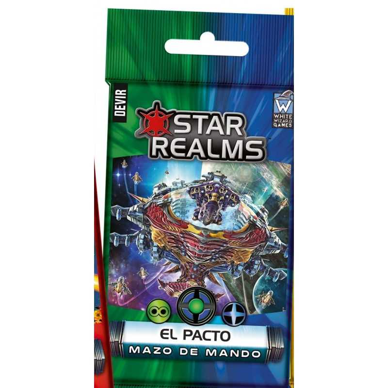 Star Realms Mazos de mando EL PACTO