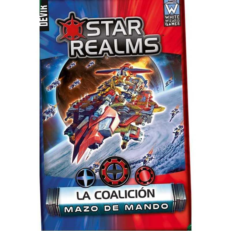 Star Realms Mazos de mando LA COALICIÓN