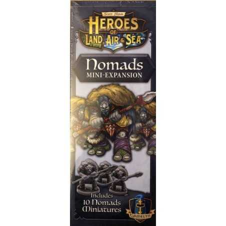 NOMADS Expansion Heroes of Land, Air & Sea
