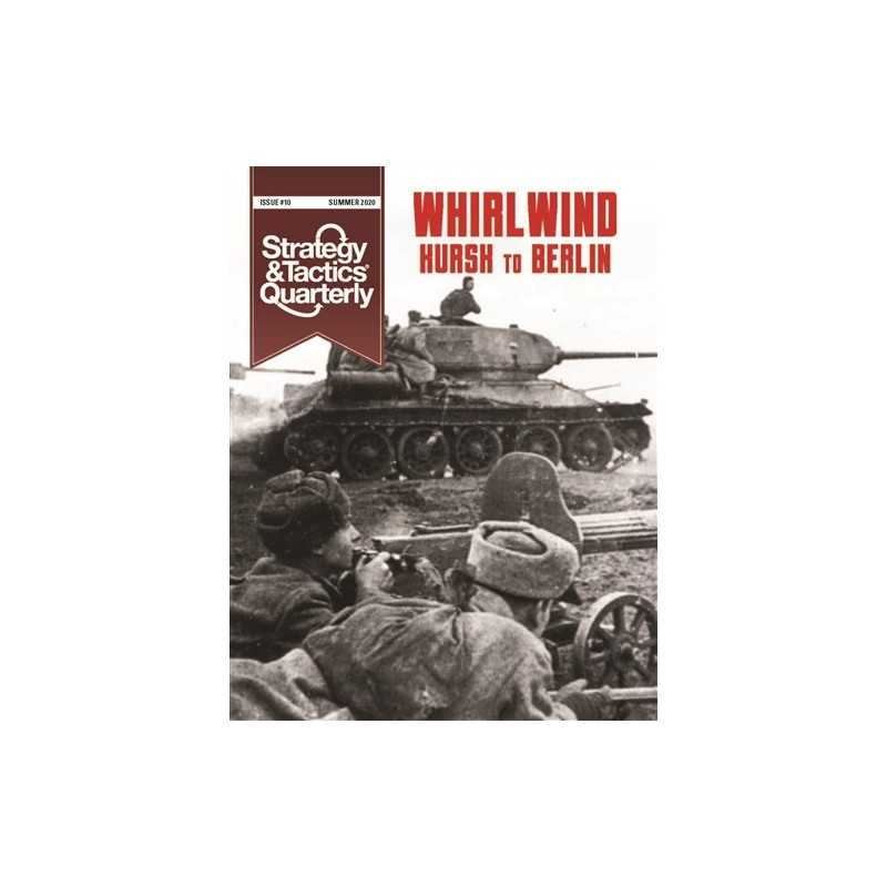 Strategy & Tactics Quarterly 10 Whirlwind – The Soviet-German War 1943-1945