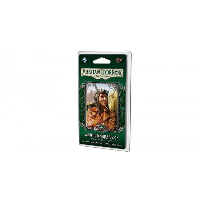 Winifred Habbamock mazo inicial ARKHAM HORROR juego de cartas.