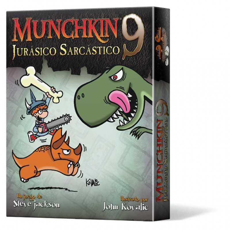 Munchkin 9 Jurásico Sarcástico