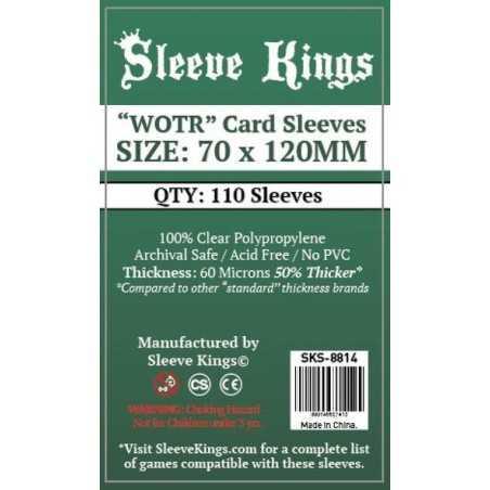 70 X 120 mm Fundas Sleeve Kings 110 unidades