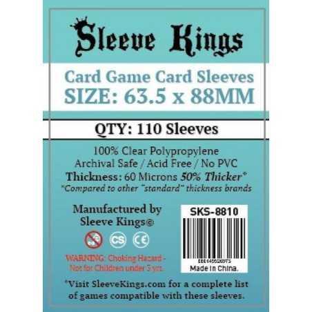 63.5 X 88 mm Fundas  Sleeve Kings 110 unidades