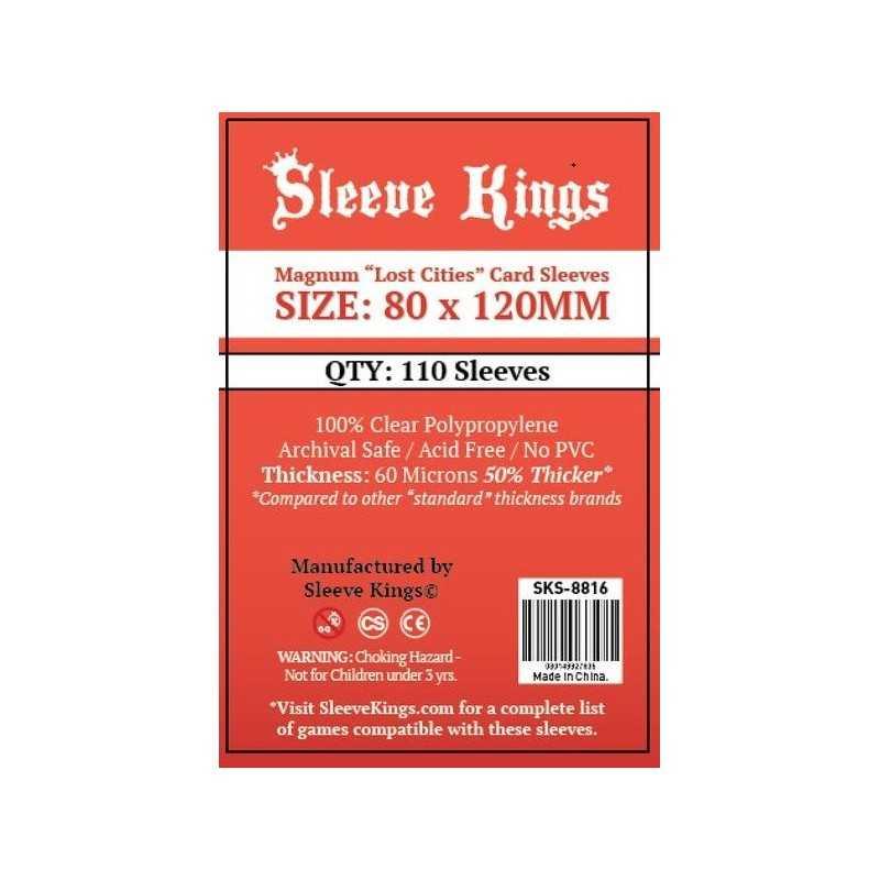 80x120mm Fundas Sleeve Kings 110 units