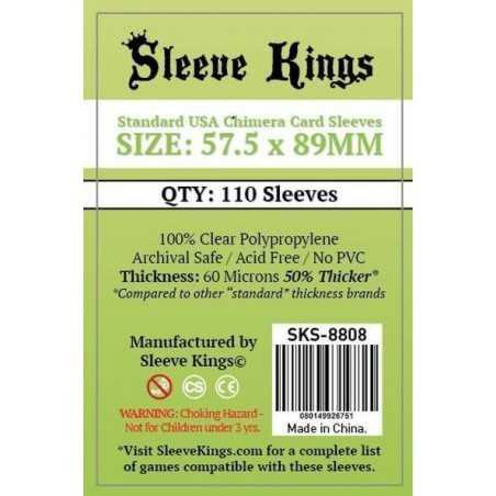 57.5x 89 mm Fundas CHIMERA Sleeve Kings 110 unidades