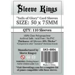 50 x75 mm Fundas SAILS OF GLORY Sleeve Kings 110 unidades