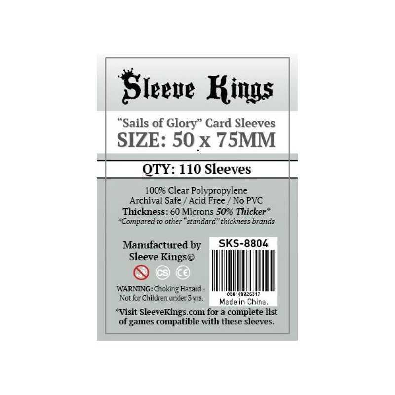 50 x75 mm Fundas SAILS OF GLORY Sleeve Kings 110 unidades