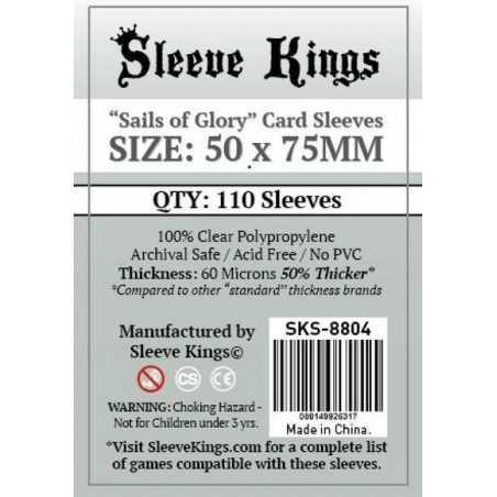 50 x75 mm SAILS OF GLORY Sleeve Kings 110 units
